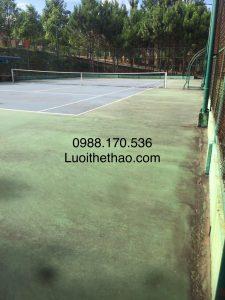 sửa chữa sân tennis