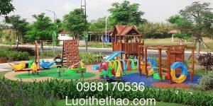 thiết kế sân chơi trẻ em