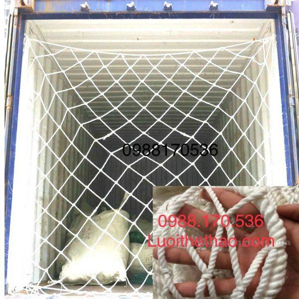 Lưới an toàn chắn xe container