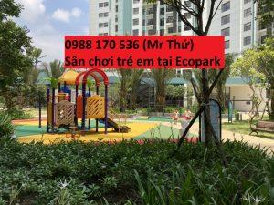 Sân chơi trẻ em 2 tại ecopark