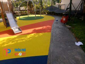 Thiết kế và thi công sân chơi trẻ em