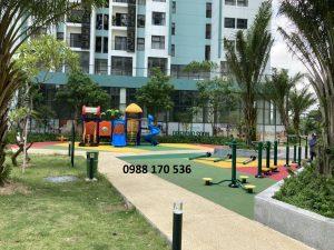 Thi công Sân chơi trẻ em tại Ecopark, Hà Nội